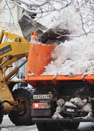 Вывоз уборка снега строймусора услуги самосвала