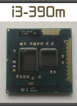 Процессор Intel Core i3-390m макс i3! на Socket G1 ноутбук