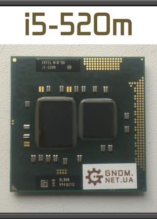 Процессор Intel Core i5-520m на Socket G1 + паста PGA988 ноутбук