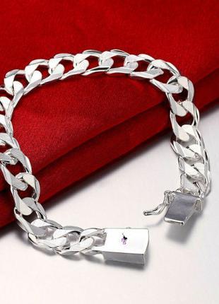 """Широкий тяжелый мужской браслет цепочка """"Даллас"""" 16102"""