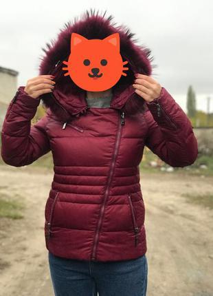 Зимняя куртка на гусином пухе