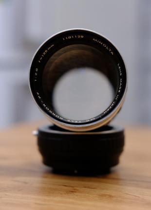Minolta MC TELE ROKKOR-PF 135 mm 2.8