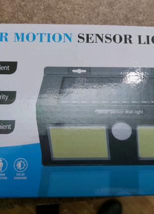 Светодиодный Навесной фонарь с датчиком движения Solar 1626В+ so