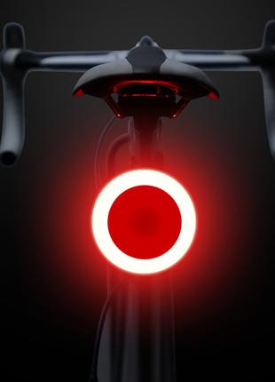 Задний габарит для велосипеда, вело мигалка, стоп фара фонарь юсб