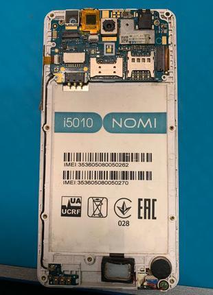 Разборка Nomi i5010 на запчасти, по частям, в разбор