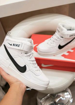Женские кроссовки Nike Air Force зима