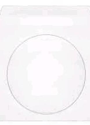 Конверт 125*125, для CD, белый, МК, 0+0, окно