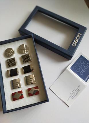 Подарочный набор запонки бренда аеon