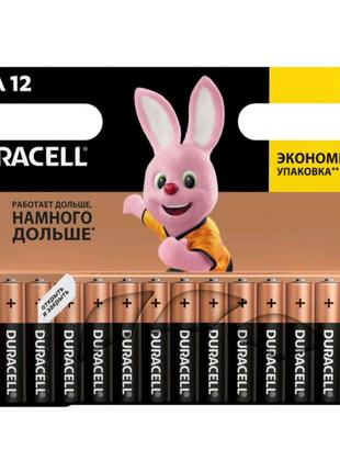 Батарейка duracell 2/aa 12в 1