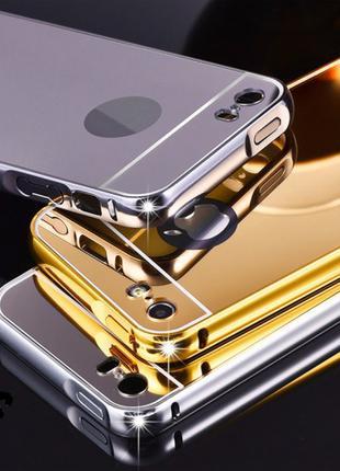 Позолоченный Бампер Для Смартфона Телефона Iphone Айфона 6 6s