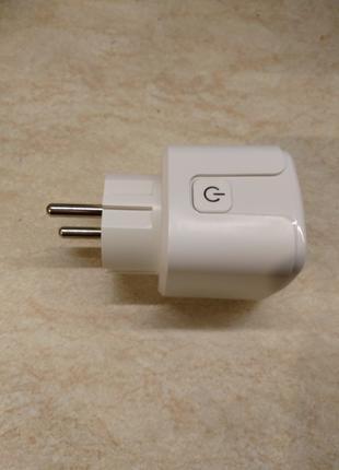 Умная Wi-Fi розетка 220V 16A 3680 W