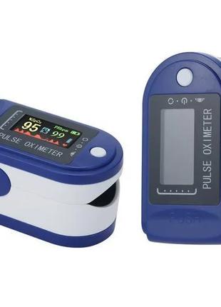 Пульсометр оксиметр на палец (пульсоксиметр) Pulse Oximeter 7575