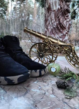 Кроссовки мужские tubular black military.