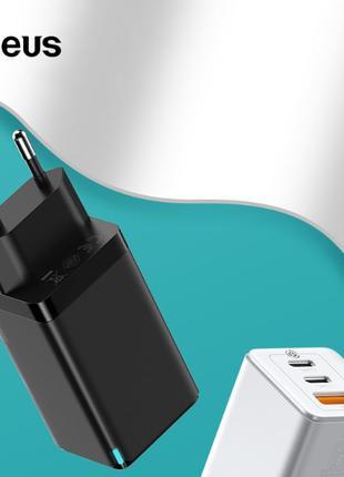 Зарядное устройство Baseus GAN для ноутбука, смартфона  65 Вт