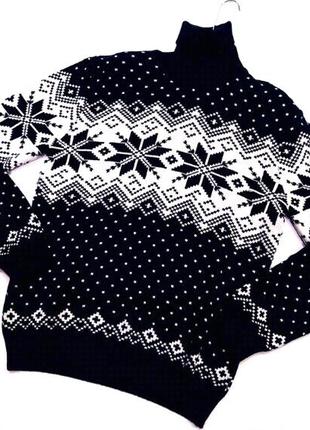 Теплый мужской свитер МСL