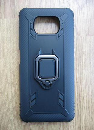 Чехол Xiaomi Poco X3 NFC Кольцо Подставка