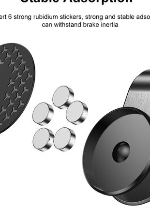 Металлический магнитный автомобильный держатель