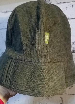 Панамка детская вельветовая.унисекс. на объём 50+см польша