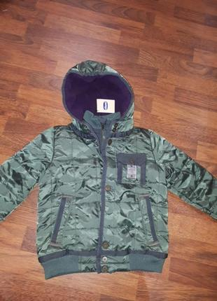 Новая курточка зима-еврозима chicco 116