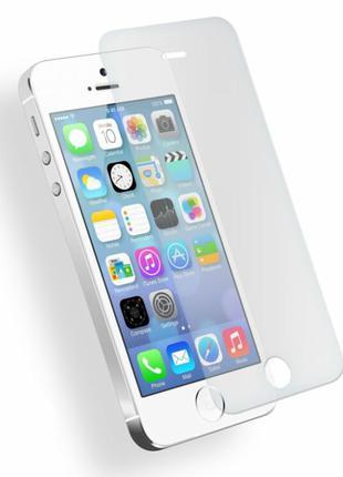 Защитное стекло 0,3mm для iPhone 5/5S/SE