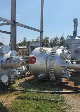 Реактор эмалированный 2м3. Германия . Реактор эмаль 2,5м3. Новый