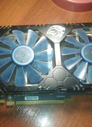 Видеокарта HIS RX 580 4gb