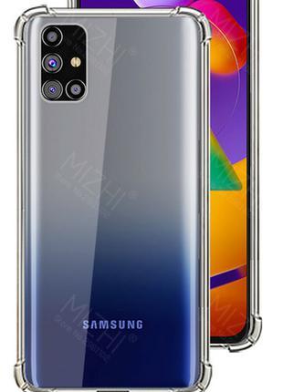 Противоударный Чехол Samsung M31S прозрачный