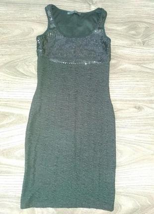Маленое черное платье/сарафан