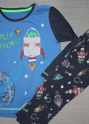 """Котоновя пижама ф.y&d""""космос"""" для ребенка 3/4 г. ,отличное сос..."""