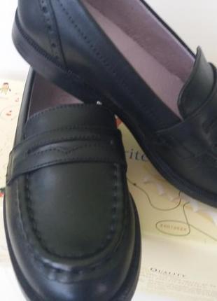 Start rite англия. кожаные туфли/лоферы.  размер 32, стелька 20,5