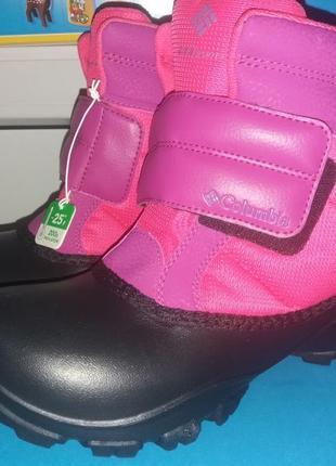 Columbia зимние термо ботинки/сапоги. размер 37