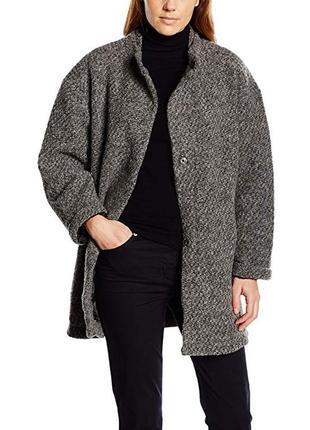Blaumax австрия. теплое пальто. 80% шерсти. размер полномерный м