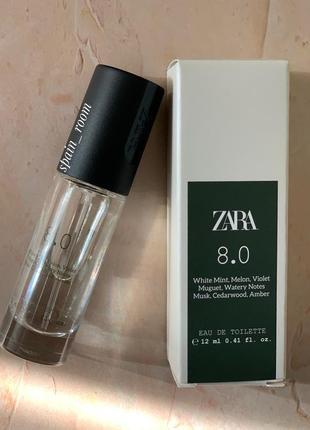 Мужские духи zara 8.0 /парфуми /туалетная вода/туалетна вода