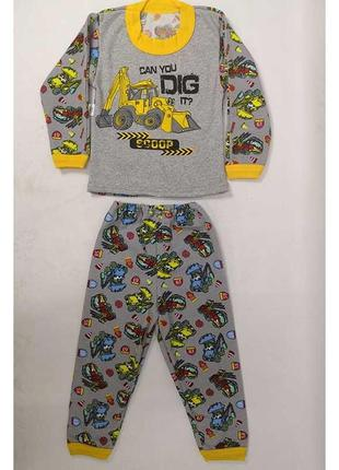 Пижама піжама тепла футер начес