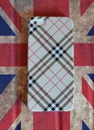 Пластиковый чехол Burberry Style для IPhone 5