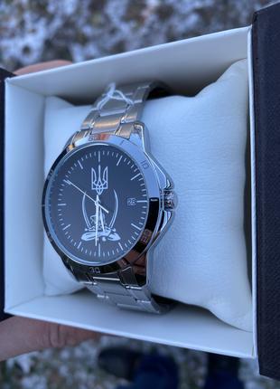 """Чоловічи наручні годинники Casio MTP-V004D логотипом """"Воля або см"""
