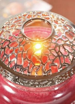 Топпер для свечей в банках illuma-lid от yankee candle
