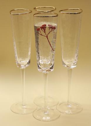 🥂 набор бокалов для шампанского.