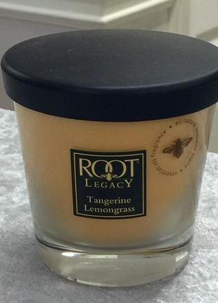Root candle сша. ароматическая свеча. пчелиный воск