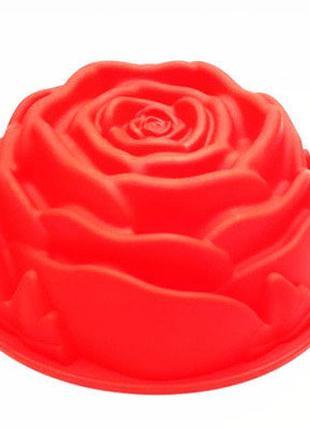 Форма для выпечки Роза большая