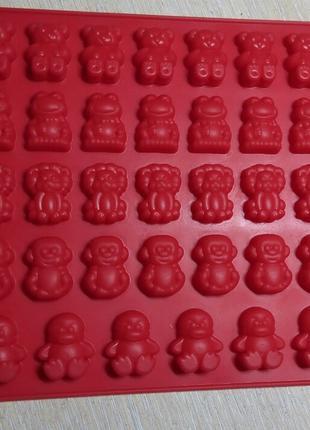 Форма для желейных конфет, шоколада