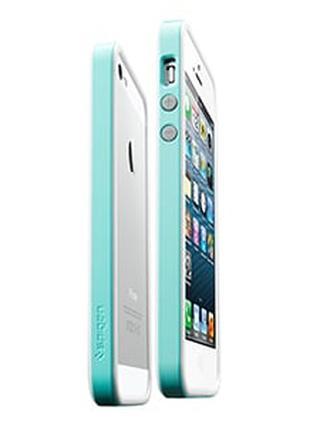 Бампер для iPhone 5 SGP Neo Hybrid EX 5s, цвет Светло Синий