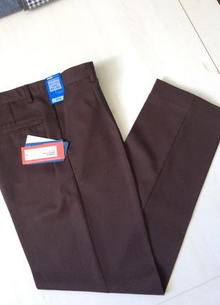 Школьные брюки m&s 13-14 лет, stormwear. замеры