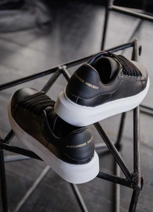 Женские мужские унисекс кроссовки alexander mcqueen black