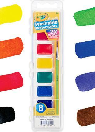 Моющиеся акварельные краски от Crayola. Washable Watercolors