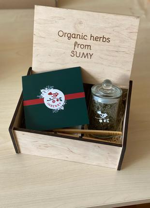 """Чайний набір """"Organic herbs from SUMY"""""""