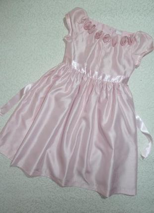Нарядное платье ladybird на 7-8 лет