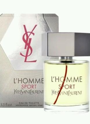 Мужская туалетная вода L`Homme Sport Yves Saint Laurent