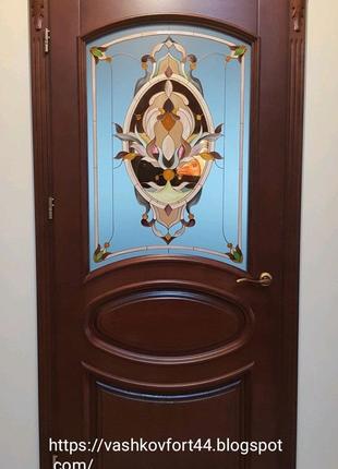 Двері з масиву дерева