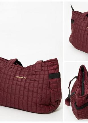 Сумка женская 154r003-6-1 цвет бордовый